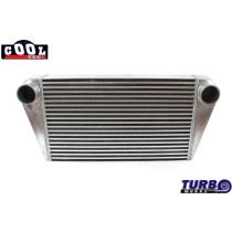 Intercooler TurboWorks 600x350x76 hátsó kivezetéssel